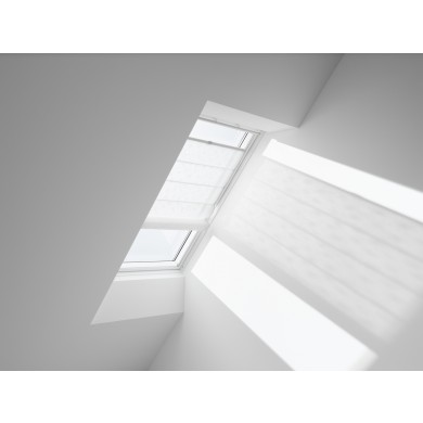 VELUX Vouwgordijn FHB 6505 White Leaves
