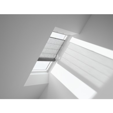 VELUX Vouwgordijn FHB 6516 Structured Grey