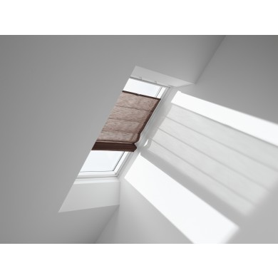VELUX Vouwgordijn FHB 6518 Structured Chocolate